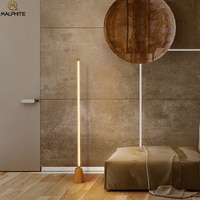 Modern Standing Floor Lamp Home Decor Lighting Fixtures Wood Lamp For Bedroom Bedside Luminaire Living Room Standing Lamps