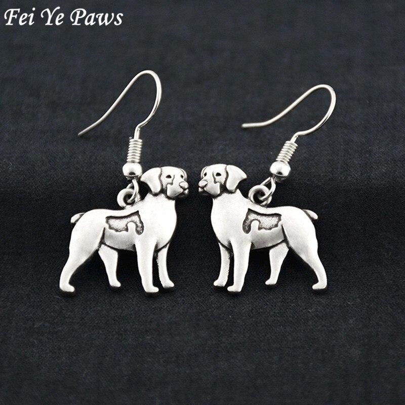 Brittany Spaniel perro pendientes colgantes brinco largo Boho DECLARACIÓN DE pendientes para las mujeres pendientes de moda joyería para mejor amiga regalo