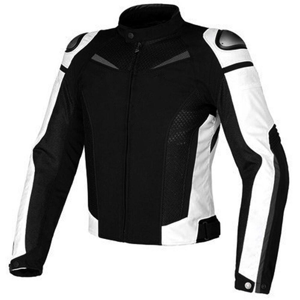 Nueva chaqueta textil de titanio de supervelocidad Dain, chaqueta de motorista a prueba de viento de malla, chaqueta de adulto
