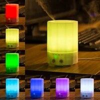 Mini diffuseur darome et dhuile essentielle electrique  humidificateur dair ultrasonique avec 7 couleurs LED pour bureau a domicile  200ml