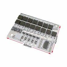 BMS 5S 21V 4S 16.8V 3S 12.6V 100A 3.6V 4.2V Li-ion Lithium 18650 Circuit de Protection de batterie avec Balance pour batterie intelligente