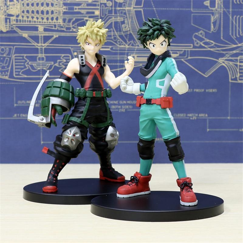 ¡Mi héroe Academia bakugou katsuki Izuku midoriya Deku Boku 1st Ver! Figura de acción de PVC de pie Todoroki Shoto coleccionable