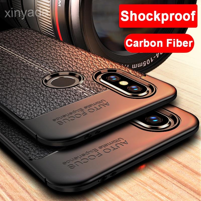 Capa de fibra carbono macio para asus zenfone 5z zs620kl 5 ze620kl lite zc600kl max m1 zb55kl pro zb601kl za550kl armadura escudo