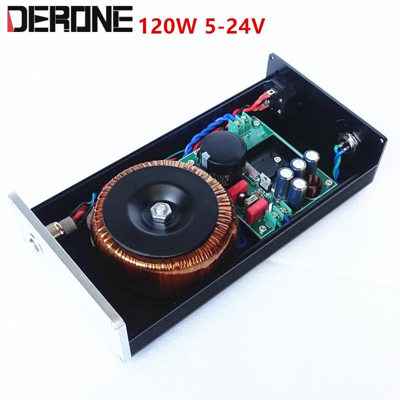 120 واط تيار مستمر 5 فولت 9 فولت 12 فولت 15 فولت 24 فولت الدقة الخطي موفر طاقة تنظيمي يمكن تخصيص الناتج الجهد 5-24 فولت