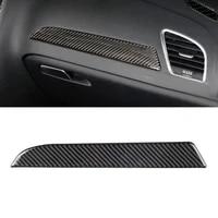 for audi a4 b8 2009 2010 2011 2012 2013 2014 2015 2016 carbon fiber left driver side dashboard decor cover trim