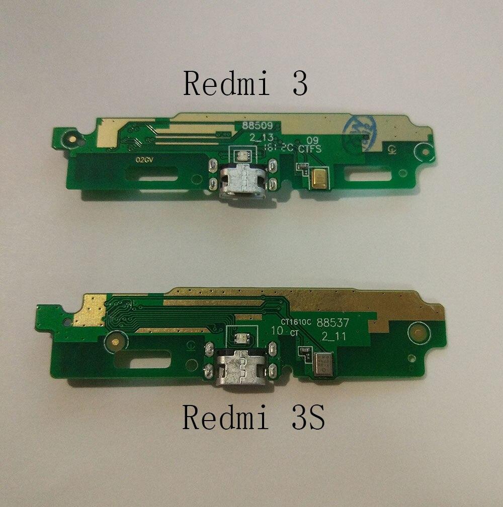 Redmi 3S 6 4a 6pro USB Charging Dock Port Flex Cable + Microphone Connector For Xiaomi mi 8 8 se Redmi 3 pro USB Charger Module