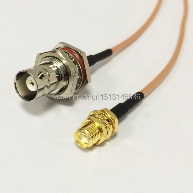 Wireless Router Cable SMA Female Jack To BNC Female Jack RG316 Wholesale Fast Ship 15CM 6inch