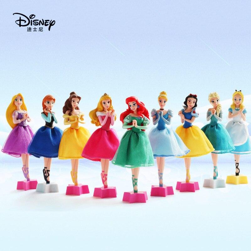 Disney princesa auténtica Frozen Elsa Anna dibujo lindo personaje bolígrafo estudiante juguete pluma