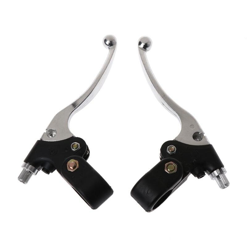 1Pair Brake Clutch Handle Lever Left & Right For MTA1 MTA2 39cc 47cc 49cc Quad Motorcycle Motorbike Accessories