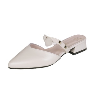Women Shoes Slingback Summer Sandals For Female Casual Footwear Pointed Toe Elegant Low Heels Party Wedding Shoe