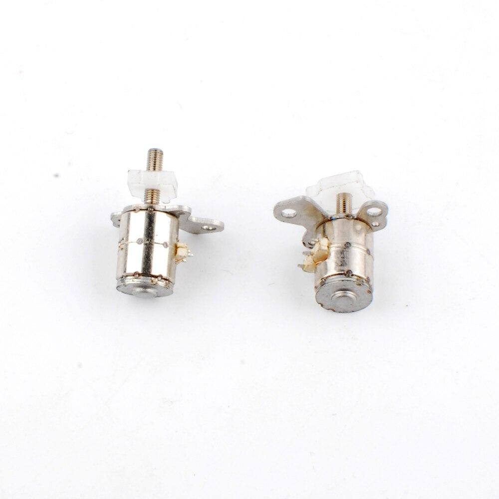 10 Uds Nidec micromotor paso a paso 2 fases 4 Cable micro stepping motor para electrodomésticos pequeños digitales