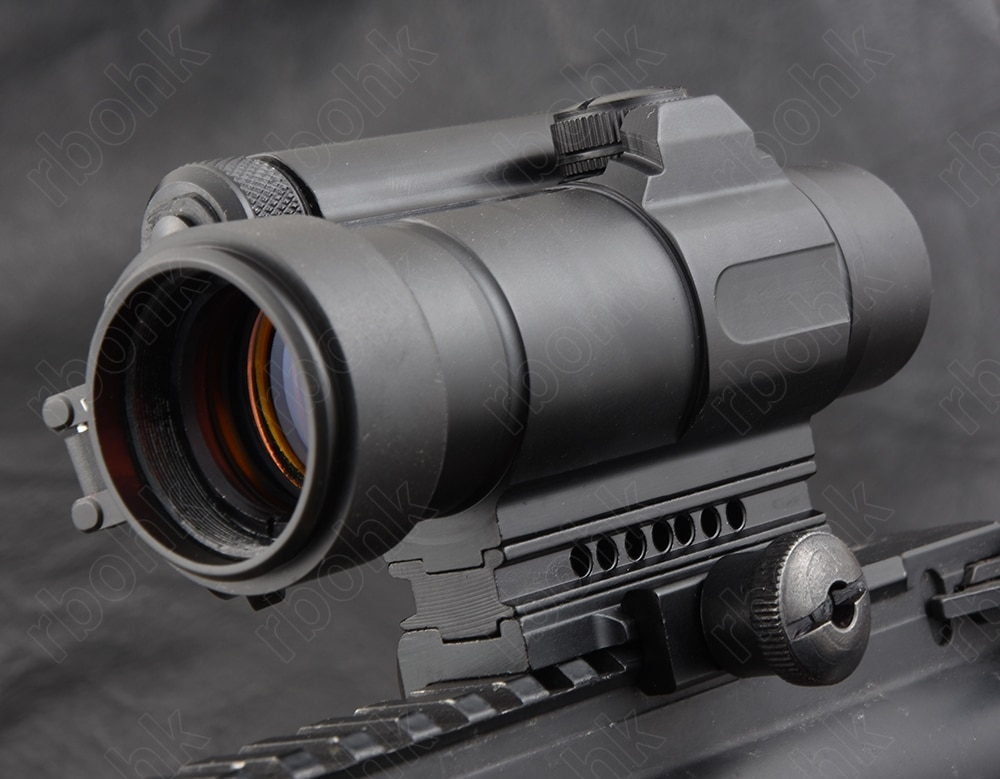 Tático holográfico m4 1x40 red dot sight rifle escopo com qd 20mm rifle picatinny montagem em trilho r5565 pirâmide