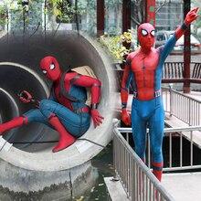 Adulte enfants araignée: retour araignée Cosplay Costume Zentai super-héros body combinaisons