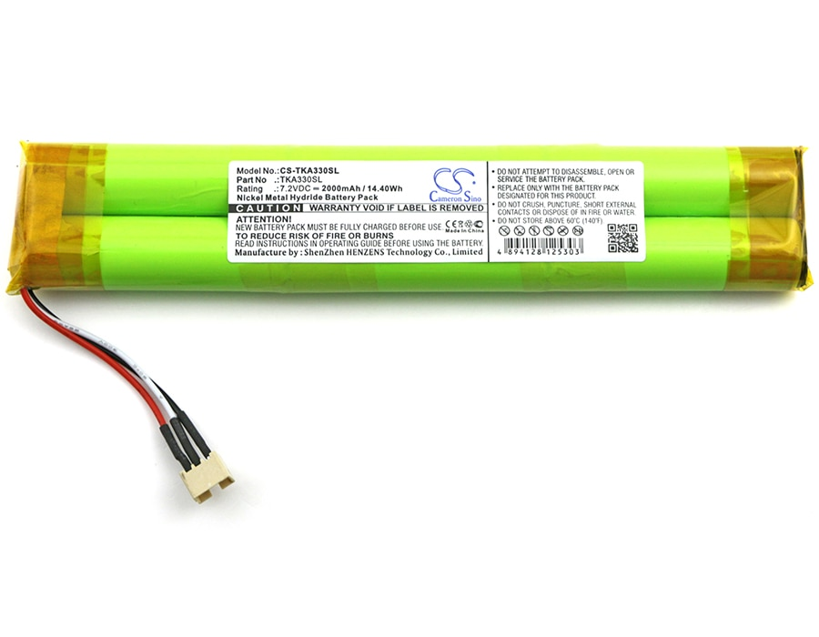 Cameron Sino 2000mAh Battery for TDK Life on Record A33,TKA330SL