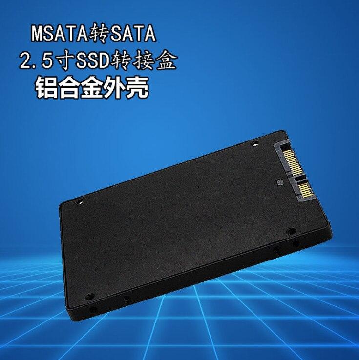 "2 paket Mini Pcie mSATA SSD 2.5 ""SATA3 Adaptör Kartı ile Kılıf 7mm Kalınlığı PC Yeni"