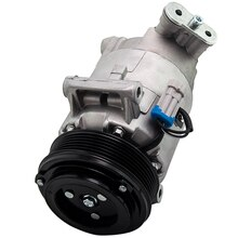 Компрессор кондиционера для Vauxhall Astra H Zafira B 1,9 дизель 93190260 R1580058 AC кондиционер 13124752