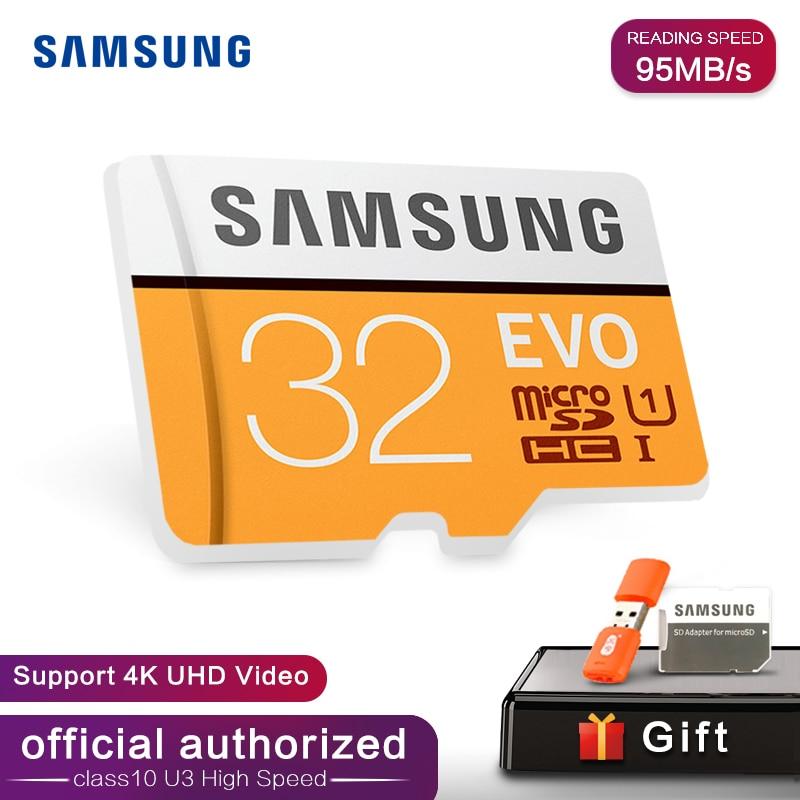 Samsung EVO GB 32GB 64G 128G SDHC tarjeta GPS Carte mémoire C10 32GB SDXC EVO; SD Smartphone memoria Flash tarjeta de descuento