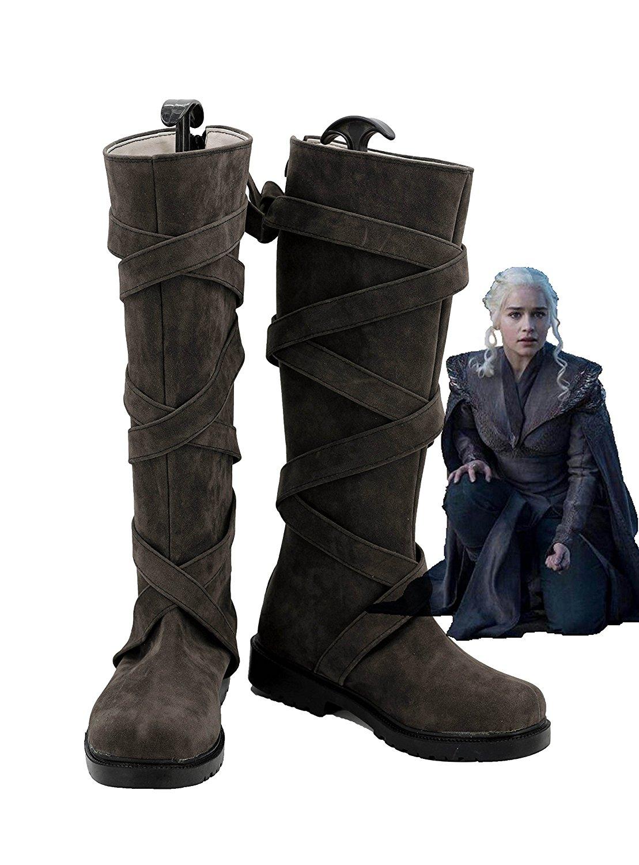 Botas de Cosplay Daenerys Targaryen de Juego de tronos temporada 7, accesorios de disfraces hechos a medida