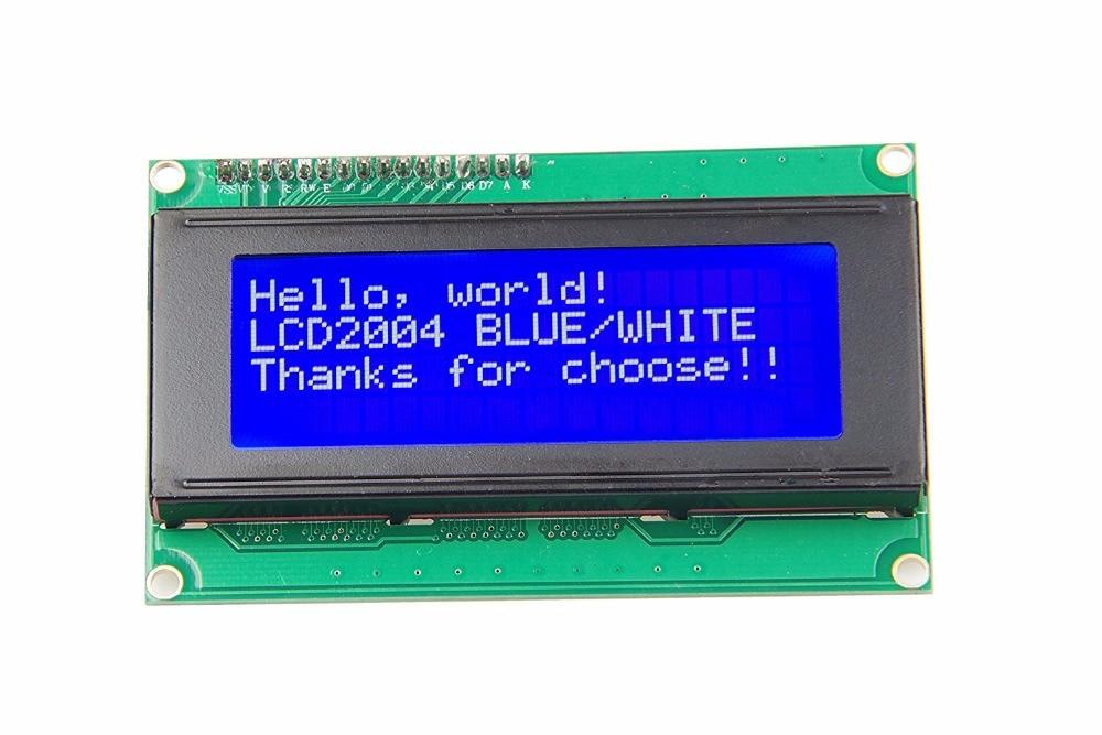 New 20x4 Character LCD Module 2004 Character LCD Display 5V Serial IIC/I2C/TWI For Arduino UNO R3 MEGA2560 Nano
