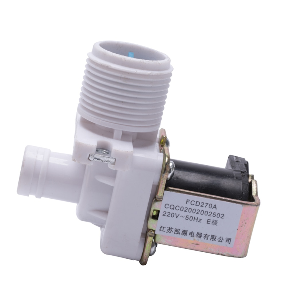 durable common parts washing machine single inlet valve FCD270A plastic inlet solenoid valve for lau