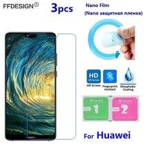 Nano Film de Protection pour Huawei P8 P9 Lite 2017 P10 P20 Lite Pro (pas de verre) LCD protecteur décran Protection Film de Protection feuille
