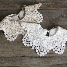 Brand New Baby Girls 100% Cotton Lace Bibs Baby Burp Cloths 0-3Year