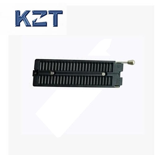 KZT envío gratis alta calidad Aries pin de bloqueo a dip 48 PLC enchufe de prueba programador adaptador IC toma de prueba
