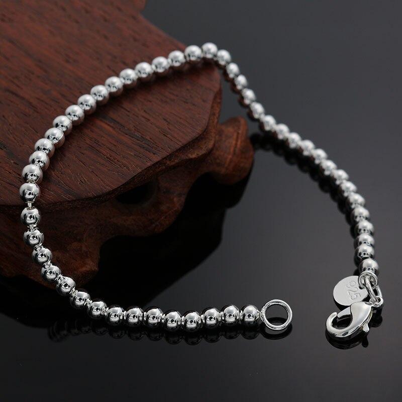 Женский браслет с цепочкой, золотого и серебряного цвета, 4 мм, H198