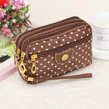 Purse Ladies Coin Multilayer Mini Canvas Bag Small Messenger Crossbody Bags For Women Female Wallet Carteira Feminino Sac T