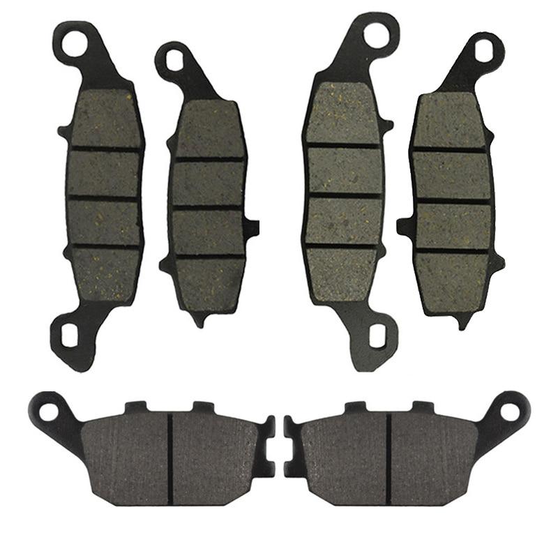 Motorcycle Front and Rear Brake Pads for Suzuki SV400 2003-2005 SV650 2002-2013 DL650 V-Strom 2004-2