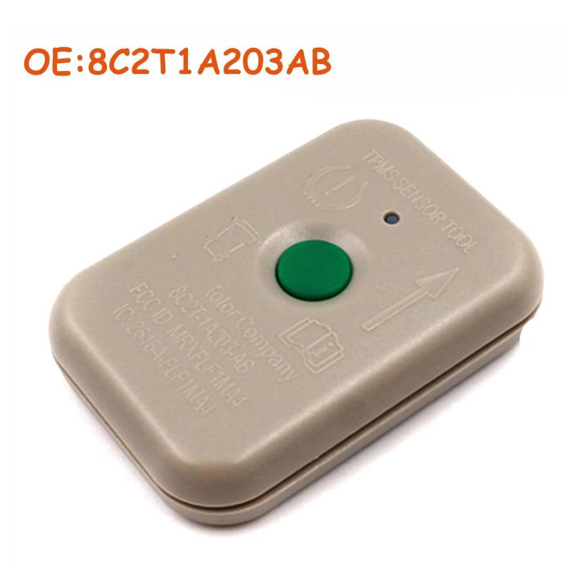 8C2T1A203AB 8C2Z-1A203-A TPMS transmisor Motorcraft para Ford TPMS neumático Presure Monitor Sensor herramienta de activación TPMS-19 TPMS19