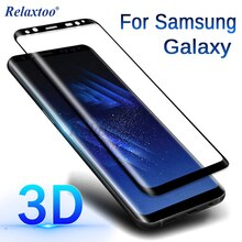 3D verre trempé incurvé pour Samsung Galaxy S9 S8 Plus Note 9 8 S7 S6 bord protecteur décran sansung sumsung note9 note8 film 9 h