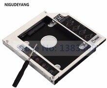 NIGUDEYANG yeni 2nd SATA sabit disk sürücüsü HDD SSD Caddy için ASUS N61 N61J N61Jq N61V N61Vg N61Vn N53 N53jf N56vj n61jv TS-L633C