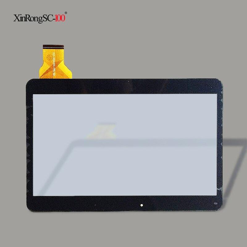 "Nuevo sensor de cristal del panel táctil de Digitalizador de pantalla táctil para la tableta de 10,1 ""Ginzzu GT-1030 3G envío gratis"