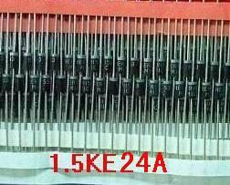 20 piezas 1.5ke24a supresor de voltaje transitorio de TV unidireccional