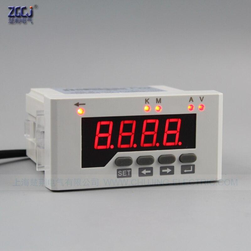 Venda Hote DC 0-50A, DC 0-600 v DC tensão e amperímetro com shunt atual 96*48mm DC volt & ampères instrumento
