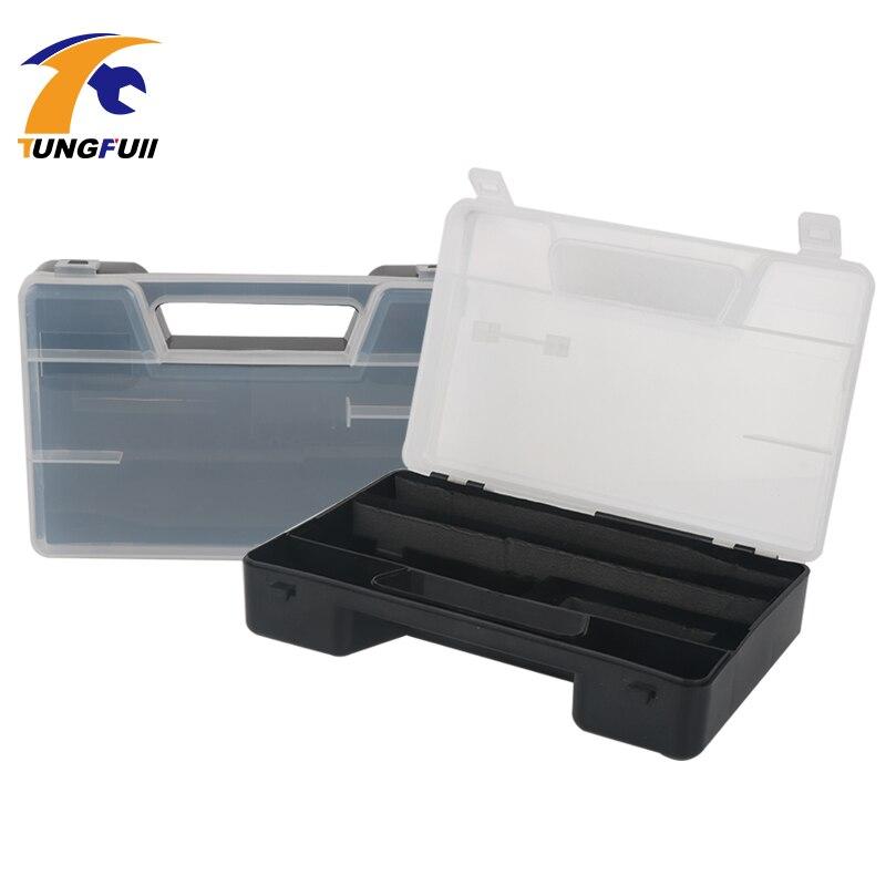 Caja de herramientas de perforación de tungsteno, accesorios dremel, caja de almacenamiento de accesorios para taladro, puede acomodar accesorios de trituradora eléctrica