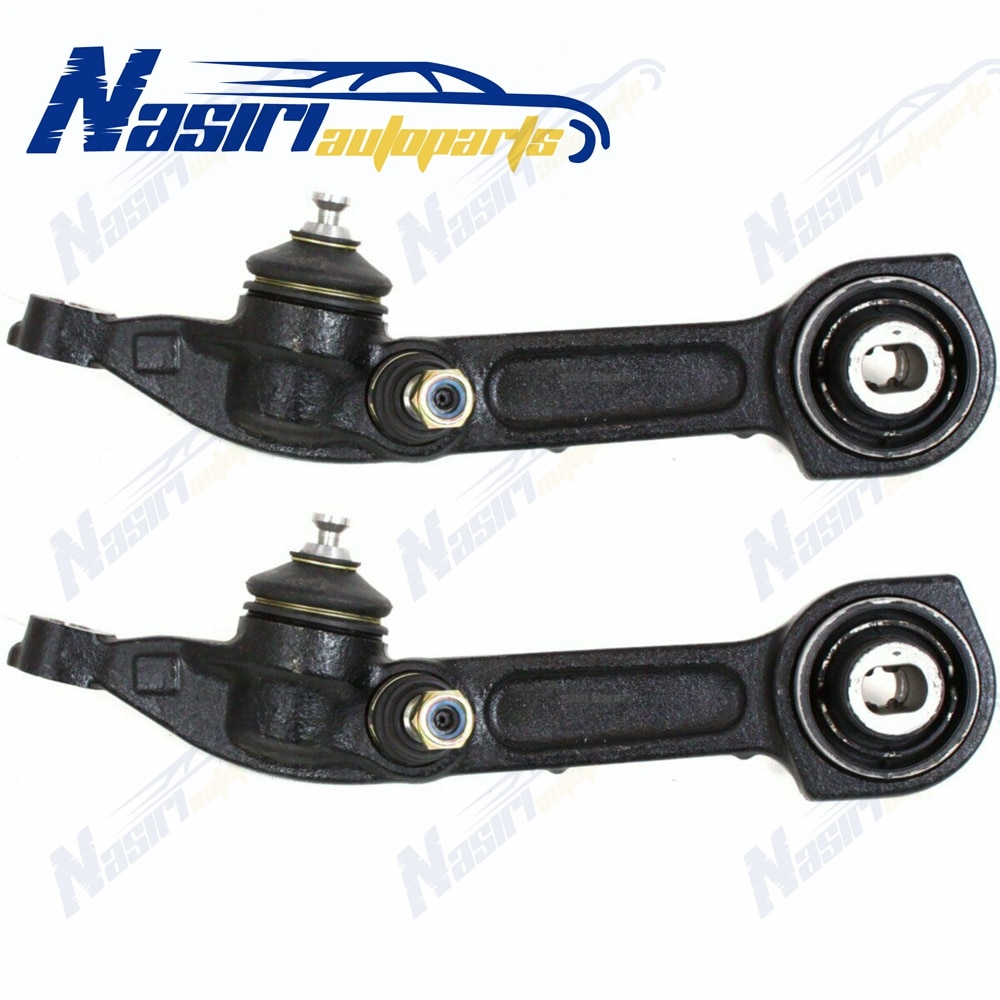 Par de brazo de Control inferior delantero para mercedes-benz CL500 CL55 CL600 CL65 S430 S500 S55 S600 S65 AMG 2000-2006