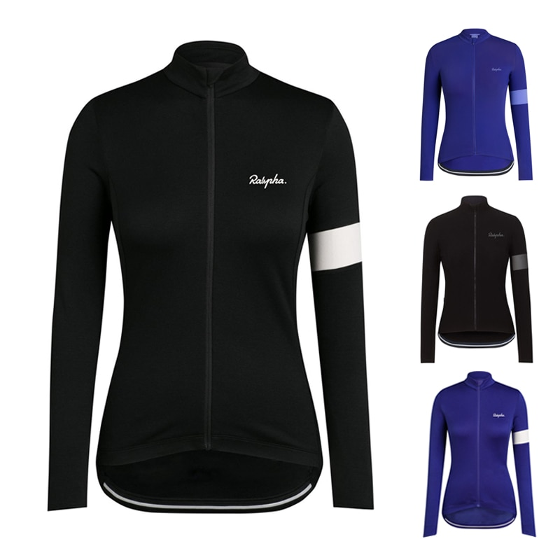 Ralvpha-Camiseta de Ciclismo de alta calidad para Mujer, Maillot de manga larga...
