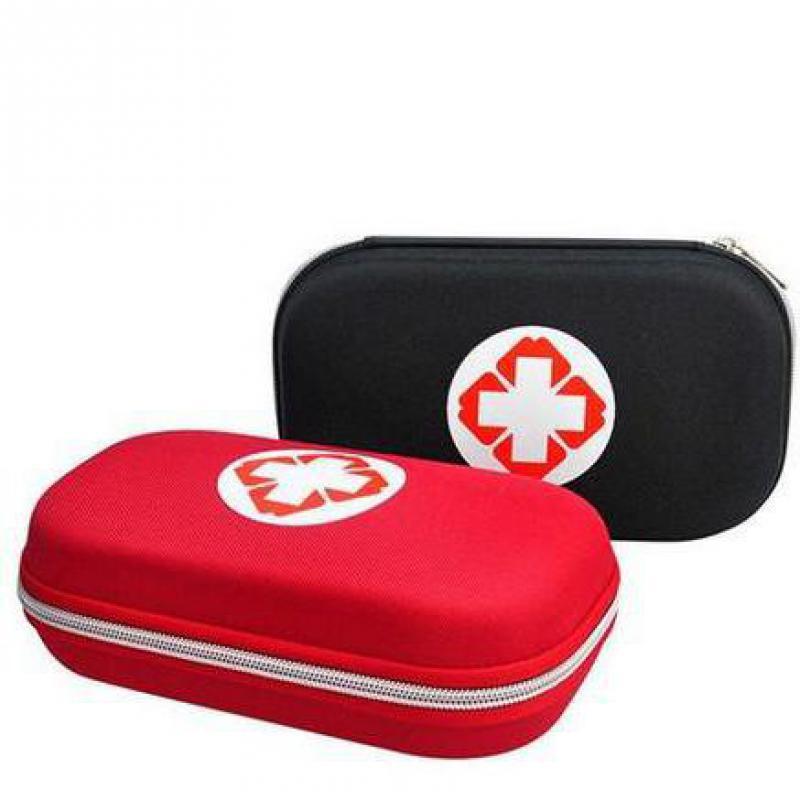 Kits de primeros auxilios para exteriores, Kit de emergencia portátil para vehículo doméstico, paquete de medicina de emergencia para terremotos que incluye 18 tipos