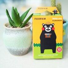 Kumamoto bearOriginal marque Fujifilm Instax Mini instantané (10 feuilles) Film couleur pour Polaroid Mini 7s 8 25 50s 70 90 SP-1/2