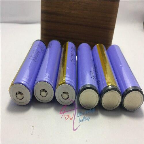 (2 шт./лот 28A ICR18650-28A SDI 18650 2800 мАч 3,7 в батарейный отсек Кнопка Топ с защитой