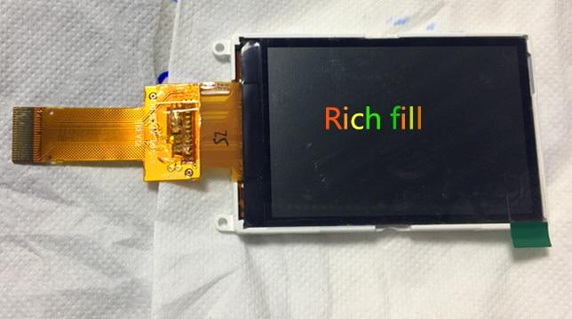 LCD Screen Display Substituição Para GARMIN 78SC GPSMAP 76CSx 62 s DF1624X FPC-1