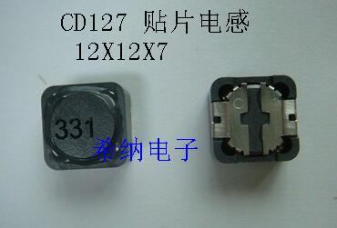 SMD Inductor CD127 22uH 220 12x7mm x 12mm 12*12*7mm 25 unids/lote de potencia SMD Kit de muestras, surtido de inductores