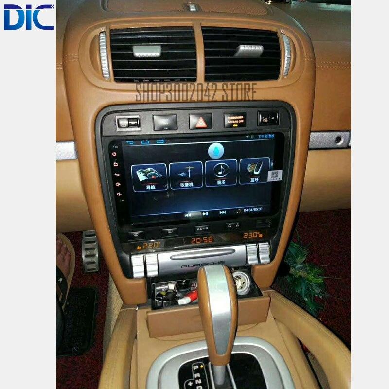 DLC sistema multifunción Android, reproductor de navegador GPS, car styling 9 pulgadas, soporte canbus mp3 video para porche cayenne 2006-2009