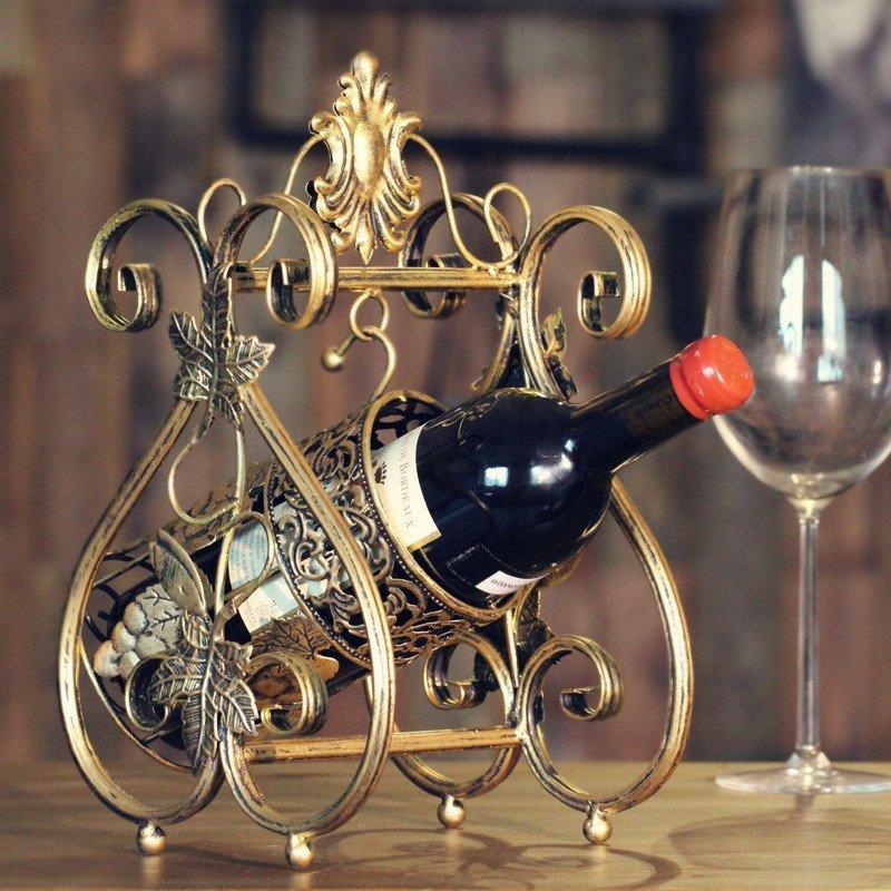 European Wine Rack Wine Crafts TV Cabinet Dining Room Cabinet Decor Home Furnishing Ornaments