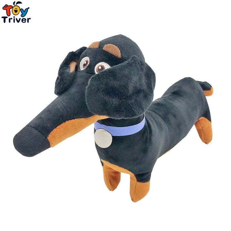 Kawaii Buddy Hund Dackel Plüsch Spielzeug Triver Kuscheltiere Puppe Pet Welpen Baby Kinder Kinder Junge Spielzeug Geburtstag Geschenk Hause decor