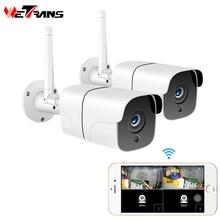 Wetrans Home Security Drahtlose Kamera CCTV System Outdoor 1080P HD 2CH Audio Camara Wifi IP Kamera Video Überwachung kit 2MP
