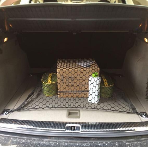 Bolsa de red de almacenamiento de cuerdas para maletero de estilo de coche para Volkswagen Touareg Phaeton Bora Lavida Lamando Beetle Touran Magotan
