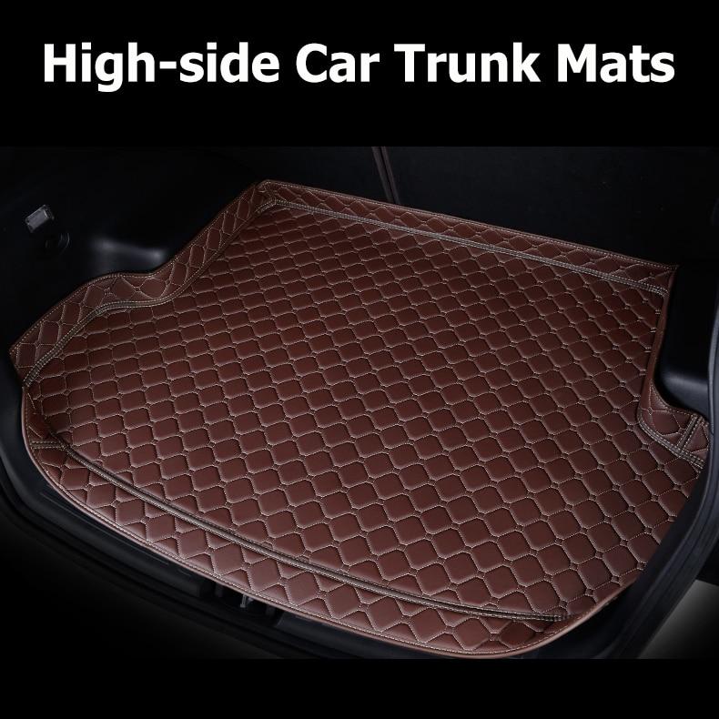 Alfombrillas de maletero de coche para hyundai sonata 2018 2016 hyundai ix35 ix25 hyundai creta accesorios de carga de coche alfombra de maletero